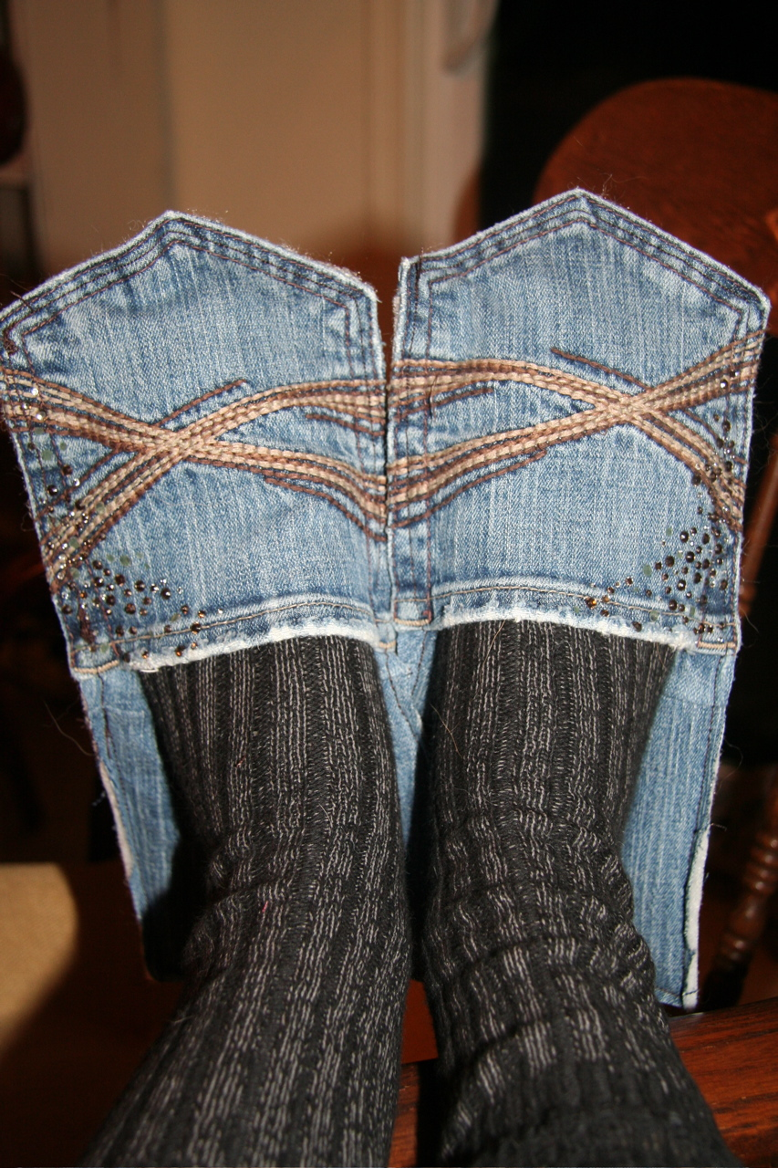 » Give 'em The Slip (DIY: Recycle Old Jeans Into Jean ...