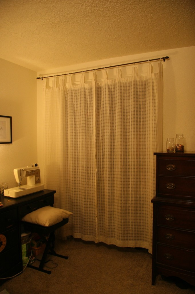 Curtains Closet Rod: Closet door curtain rod. Closet with curtains as ...